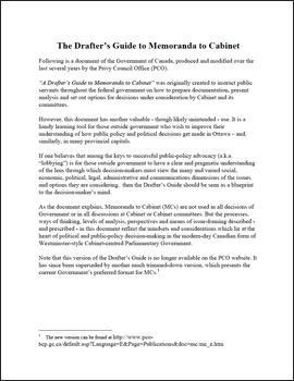 Guide-to-Memoranda-to-Cabinet-1998