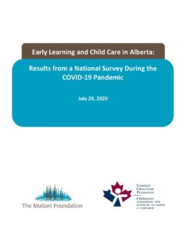 The Pandemic and Early Learning and Child Care in Alberta (final July 20)